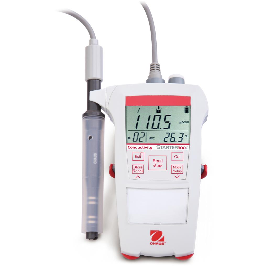 奥豪斯ST300C/B便携式电导率仪